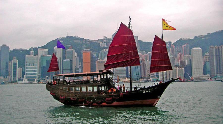 Reiseeindrücke der chinesischen Großstadt